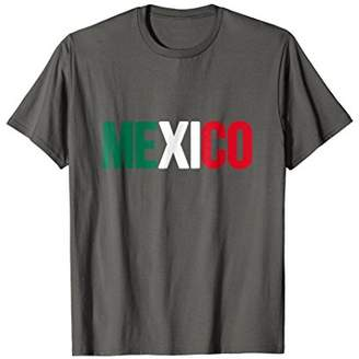 Mexico T-shirt Mexican Flag Soccer Football Fan Jersey