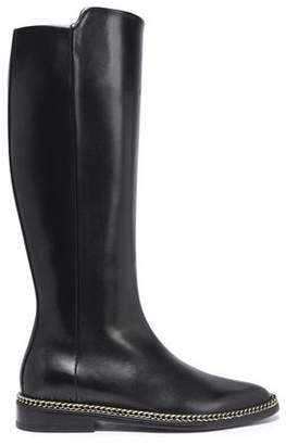 Lanvin Leather Knee Boots