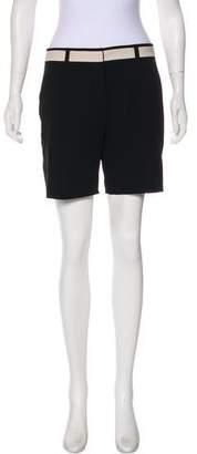 Narciso Rodriguez High-Rise Wool Shorts