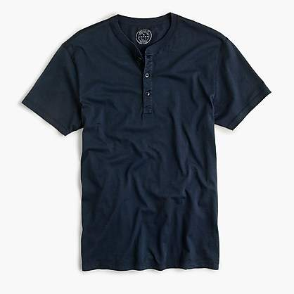 J.Crew Slim broken-in short-sleeve henley