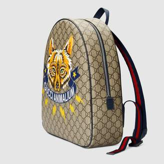 "Gucci Children's GG Animalium"" backpack"
