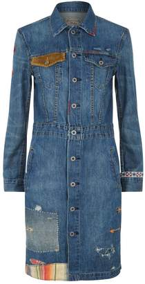Polo Ralph Lauren Denim Patchwork Dress
