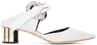 Proenza Schouler White Ribbon Heels $995 thestylecure.com