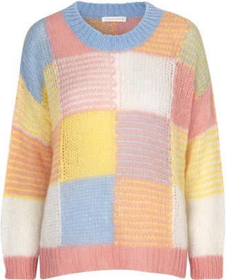 Stine Goya Sana Multi Check Sweater Size: XXS