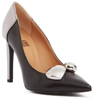 Love Moschino Pointed Toe Stiletto Pump