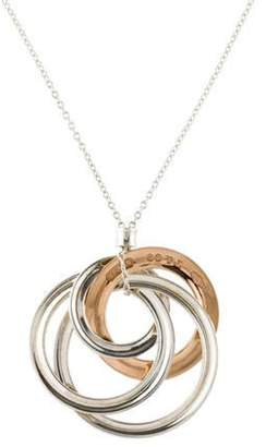 Tiffany & Co. 1837 Medium Interlocking Circles Pendant Necklace silver 1837 Medium Interlocking Circles Pendant Necklace