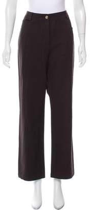 St. John High-Rise Wide-Leg Jeans