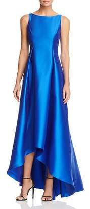 Adrianna Papell Sleeveless High/Low Ball Gown