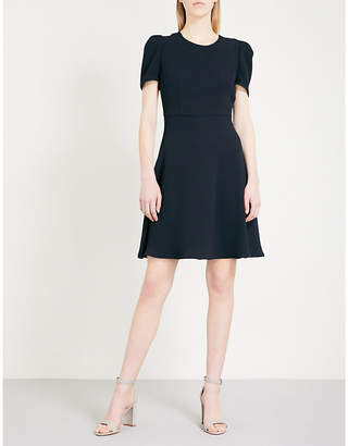 Claudie Pierlot Cutout-detail crepe dress