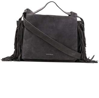 Elena Ghisellini fringe detail shoulder bag