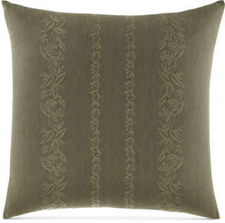 """Tommy Bahama Home Nador Embroidered 18"""" Square Decorative Pillow"""