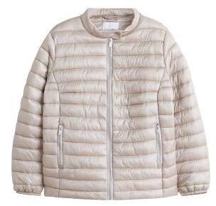 Violeta BY MANGO Pocket quilted jacket