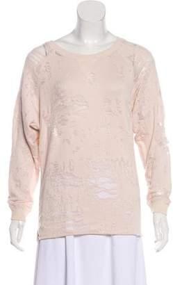 IRO Gareth Distressed Sweatshirt