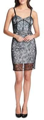 GUESS Sleeveless Lace Dress