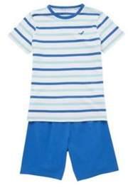 F&F Striped Short Pyjamas 12-13 years