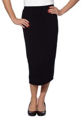 Matty M Ladies' Midi Skirt Pull-on Style, Fully Lined, Knee Length