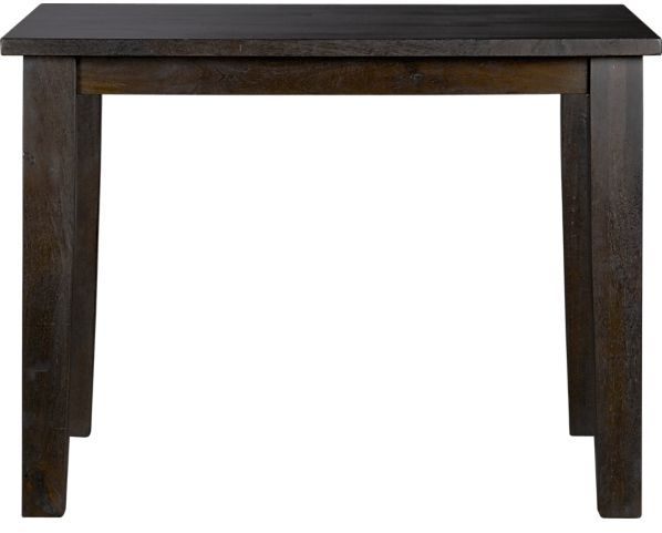 """Crate & Barrel Basque Java 40"""" Square Dining Table"""