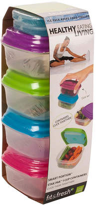 Fit & Fresh FIT AND FRESH Healthy Living 10-pc. 1-Cup Stak Paks Set