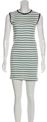 Edith A. Miller Knit Sleeveless Mini Dress