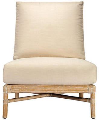 Selamat Olympia Rattan Slipper Chair - Nutmeg