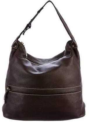 Céline Grained Leather Hobo