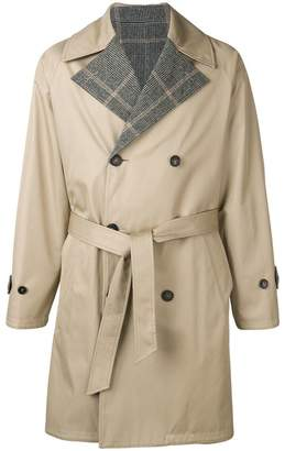MACKINTOSH double breasted trench coat
