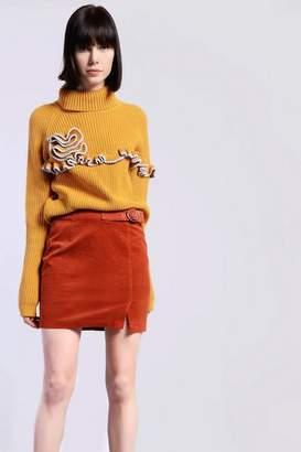 Glamorous **Belted Corduroy Skirt