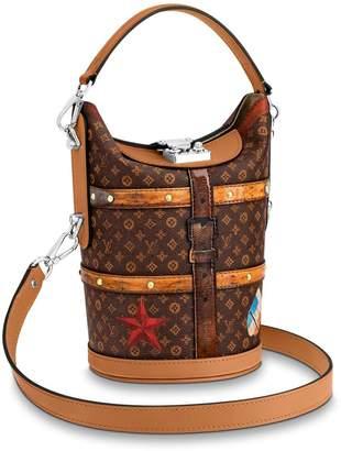 Louis Vuitton Duffle Bag Monogram Time Trunk Brown Multicolor
