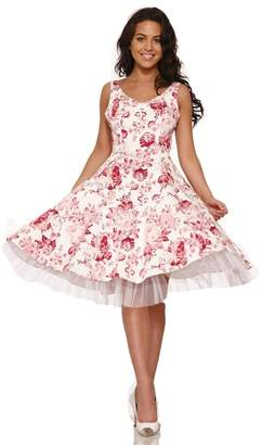 Hearts And Roses Blushing Roses Dress