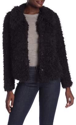 Love Token Cozy Short Faux Fur Coat