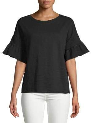 Sanctuary Ruffle Bell Sleeve T-Shirt
