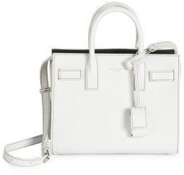 Saint Laurent Nano Sac De Jour Leather Tote $1,990 thestylecure.com