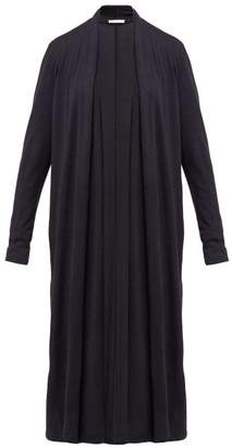 The Row Renate Cashmere Blend Cardigan - Womens - Navy