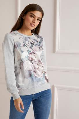 df25962a23 Next Lipsy Floral Print SweatShirt - X-Small