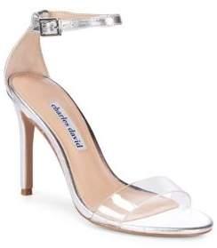 Charles David Cristal Classic Stiletto Heel Sandals
