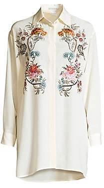 Etro Women's Embroidered Floral Tunic