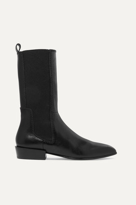3.1 Phillip Lim Dree Leather Chelsea Boots - Black