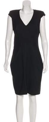 Helmut Lang Virgin Wool Knee-Length Dress w/ Tags