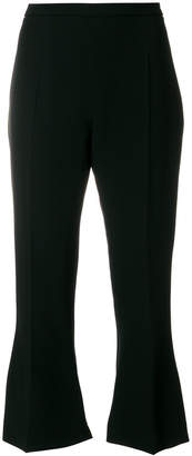 Antonio Berardi cropped flared trousers.