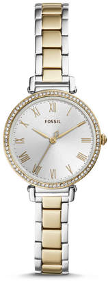 Fossil Kinsey Three-Hand Two-Tone Stainless Steel Watch