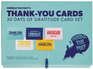 Indigo HUMBLE POET BOXED THANK YOU CARDS