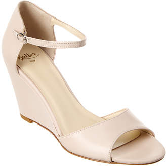 Butter Shoes Parry Leather Wedge Sandal