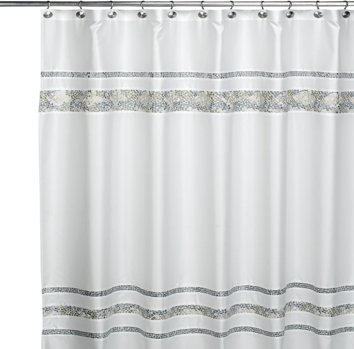 CroscillCroscill® Spa Tile 72-Inch x 84-Inch Fabric Shower Curtain