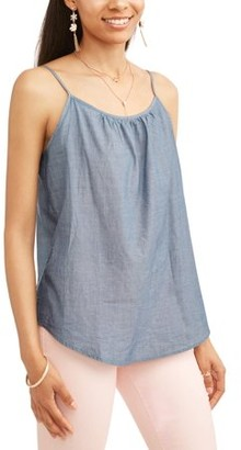 122d7a6612c71 Time and Tru Women s Essential Woven Cami Tank