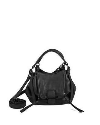 Kooba Jonnie Mini Leather Crossbody Bag, Black $278 thestylecure.com