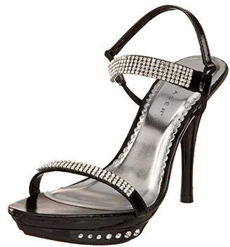 Pleaser USA Women's Monet-08 Ankle Wrap Sandal