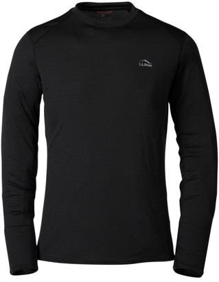 L.L. Bean Men's L.L.Bean Lightweight Crew Base Layer, Long Sleeve