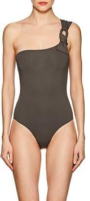 Eres Women's Cliché One-Shoulder One-Piece Swimsuit - Sabbia