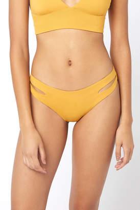 L-Space Estella Bronze Cutout Hipster Bikini Bottom