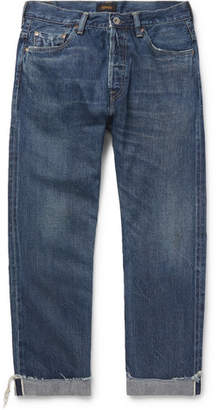 Chimala Cuffed Selvedge Denim Jeans